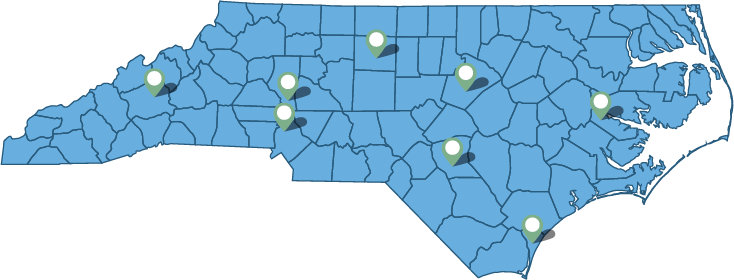 NCNG Employment Center Locations
